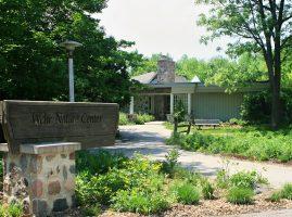 Wehr Nature Center building entrance
